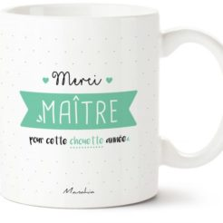 mug merci maître