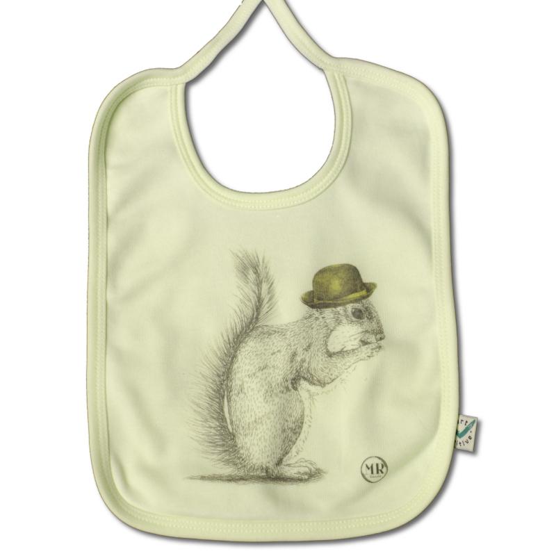 Bavoir écureuil