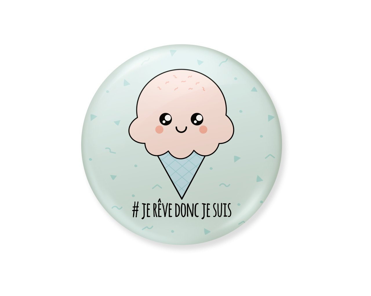 badge glace