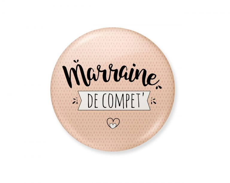 badge marraine de compet'