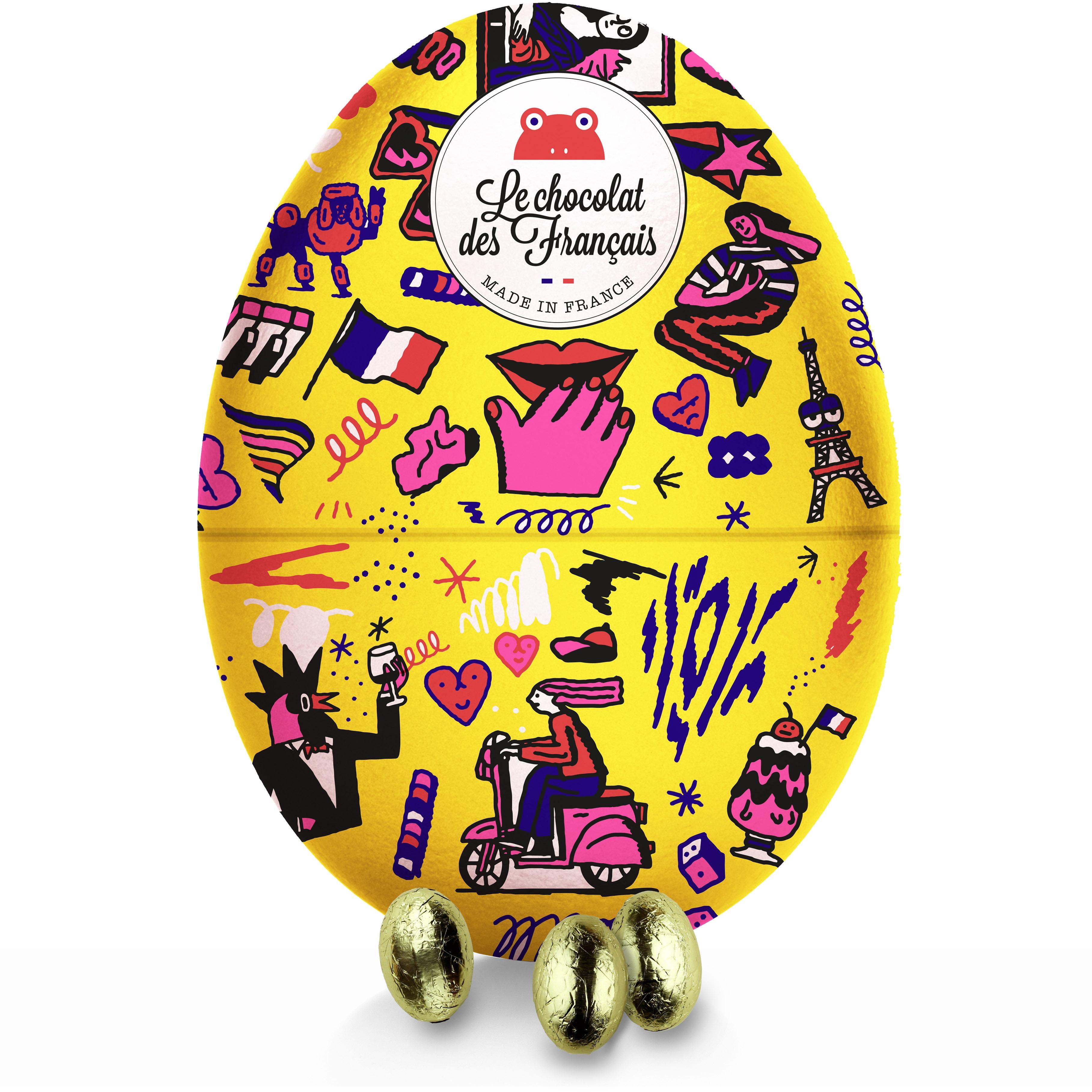 œuf jaune pâques