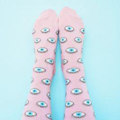 chaussettes œil