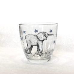 verre éléphant